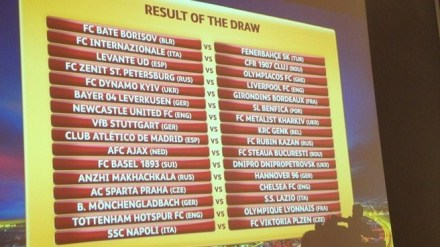 jogos europa league