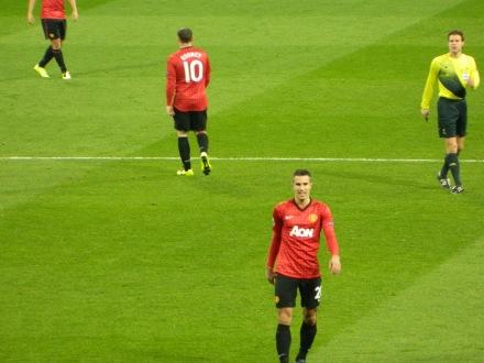 Os dois lados do Manchester United, o príncipe Van Persie e o ogro Rooney :)