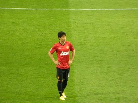 Kagawa, o japonês do Manchester United foi bem na partida.