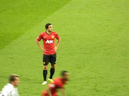 O lateral brasileiro Rafael não foi bem, até atacou, mas na hora de defender falhou muito.