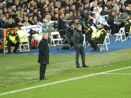 Dois grandes, Mourinho e Sir Ferguson.