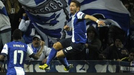 Moutinho, autor do gol do Porto (foto:uefa)
