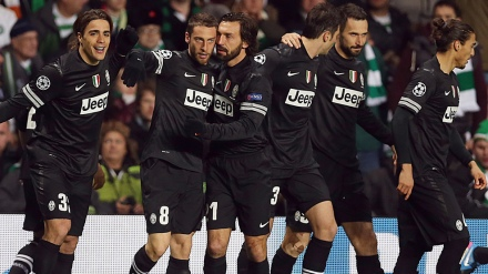 La Juve está praticamente classificada (AFP/Getty Images)