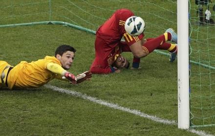 Gol Pedro Espanha