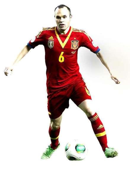 Espanha uniforme vermelho