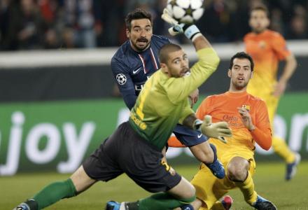 Víctor Valdés gol PSG
