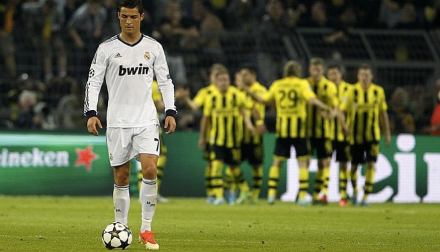 Borussia 4x1 Real Madrid