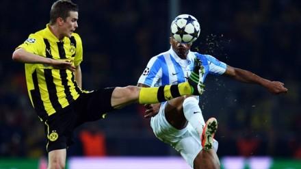 Borussia Dortmund x Málaga