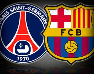 PSG x Barcelona