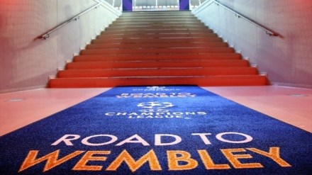 Road Wembley Champions League