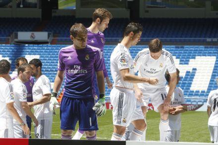 Camiseta goleiros Real Madrid 2013/14