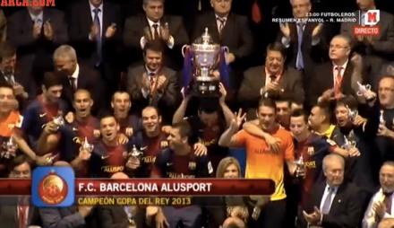 Barcelona Campeão Copa do Rei Futsal