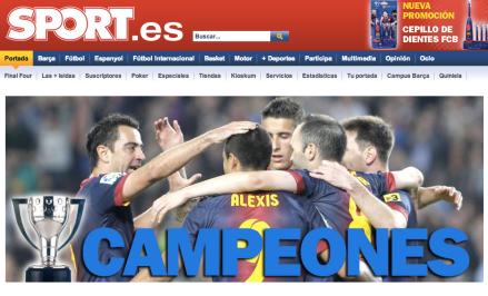Barcelona Campeão Liga