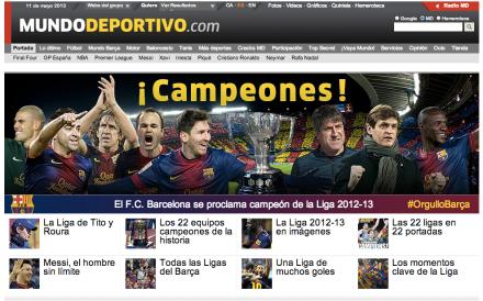 Barcelona Campeão Mundo Deportivo
