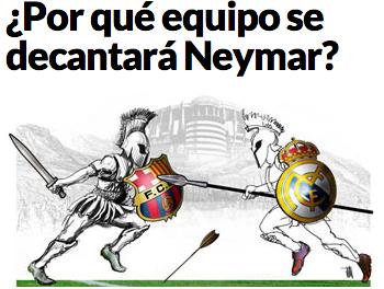 Neymar Barça x Madrid