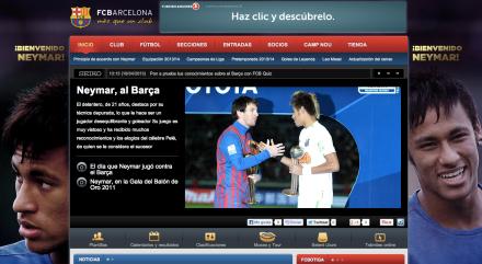 Site Barcelona Neymar