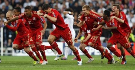 Jogadores do Bayern de Munique