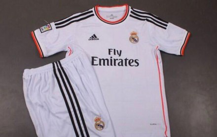 Nova Camiseta Real Madrid 2013/14