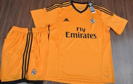 Nova terceira camiseta Real Madrid 2013/14