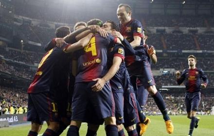 Barcelona 100 pontos