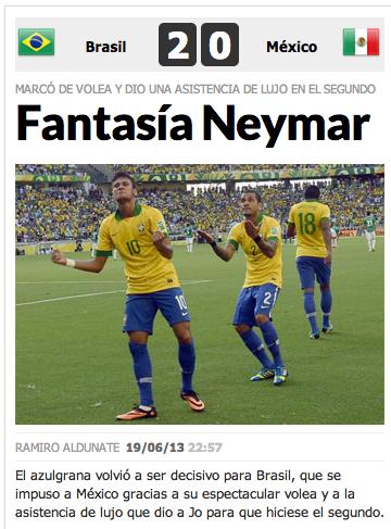 Neymar capa Marca