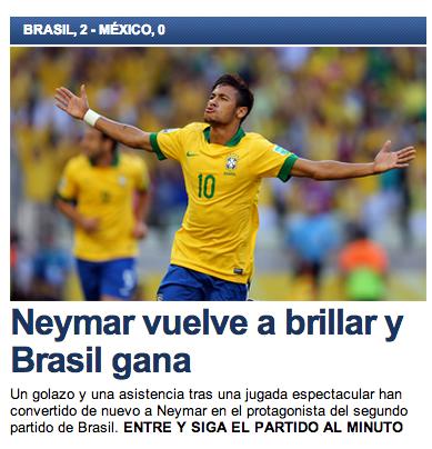 Neymar capa jornal Sport