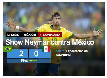 Neymar jornal Mundo Deportivo