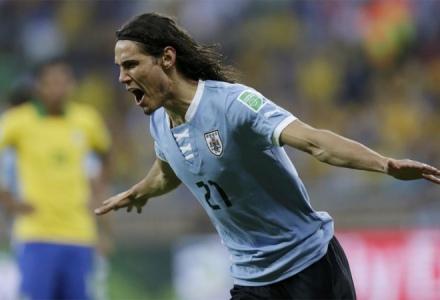 Gol Cavani Brasil