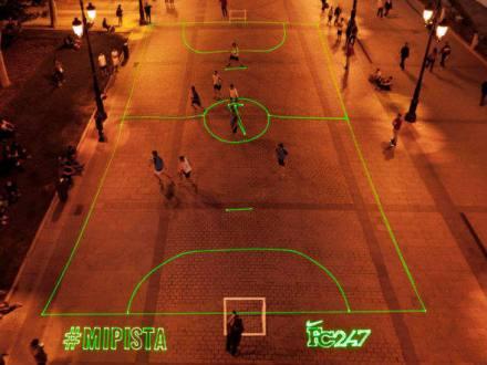 Campo à laser Nike