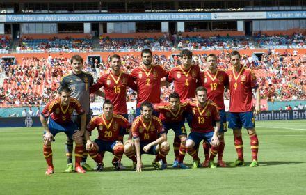 Seleção Espanhola Estados Unidos