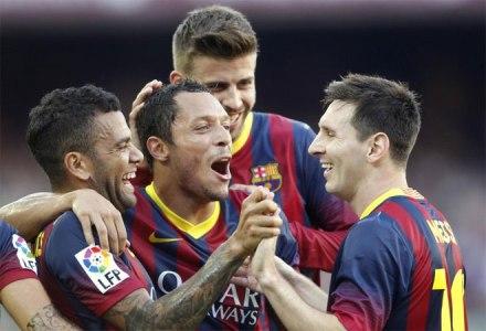 Barcelona 7x0 Levante