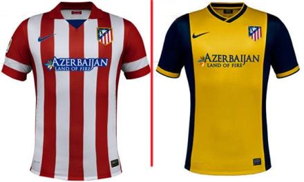 Camisetas Atlético de Madrid 2013-14