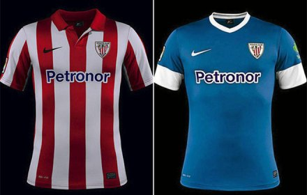 Camisetas Athletic de Bilbao 2013-14