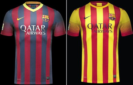 Camisetas Barcelona 2013-14