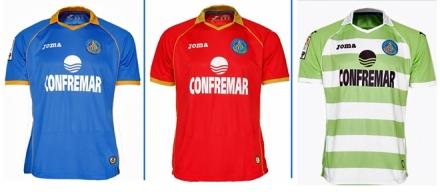 Camisetas Getafe 2013-14