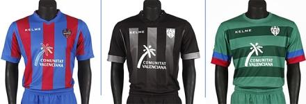 Camisetas Levante 2013-14