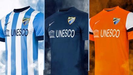 Camisetas Málaga 2013-14