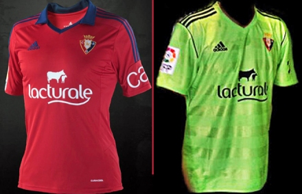 Camisetas Osasuna 2013-14