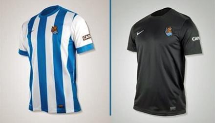 Camisetas Real Sociedad 2013-14