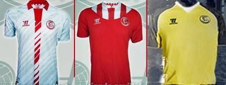 Camisetas Sevilla 2013-14