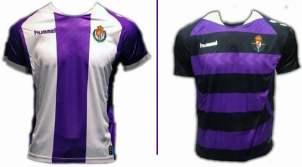 Camisetas Valladolid 2013-14
