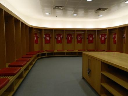 Vestiário Arsenal