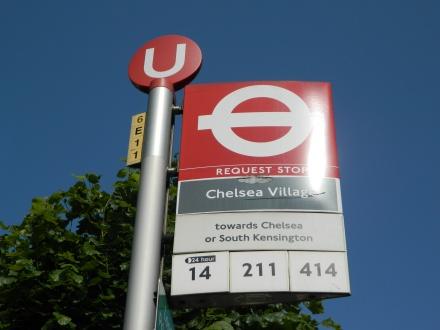 ônibus Stamford Bridge