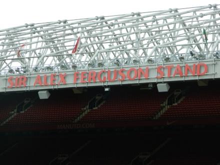 Ferguson Old Trafford