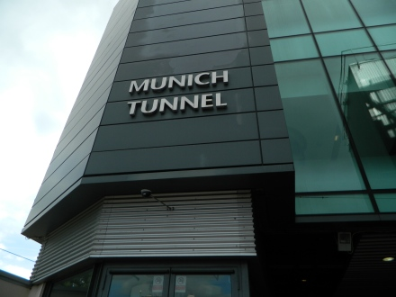Old Trafford Tunel Munique