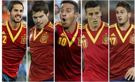 Jogadores Espanha