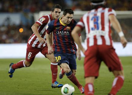 Messi Barcelona Supercopa