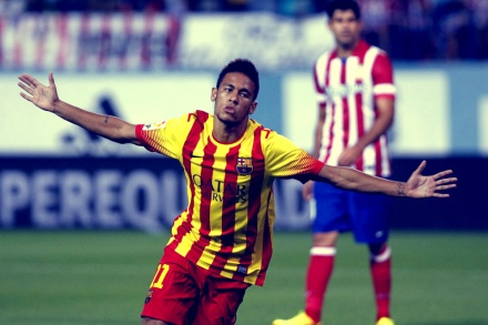 Neymar primeiro gol barcelona