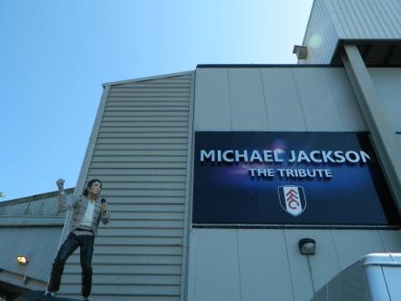 michael jackson estatua fulham