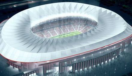 Novo estádio Atlético de Madrid